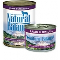 Natural Balance Lamb Formula Canned Dog Food (0.37kg)
